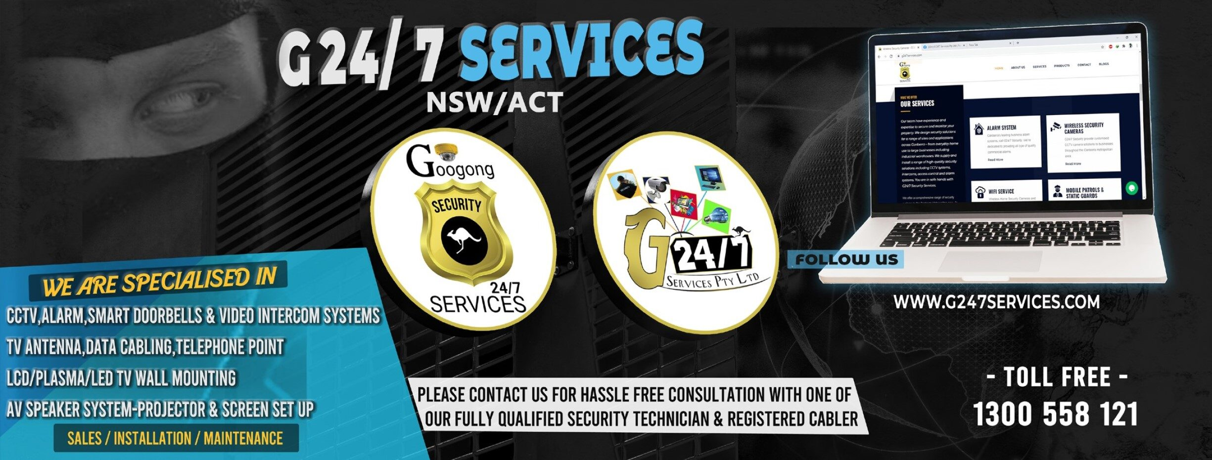G 24/7 Latest Security Products